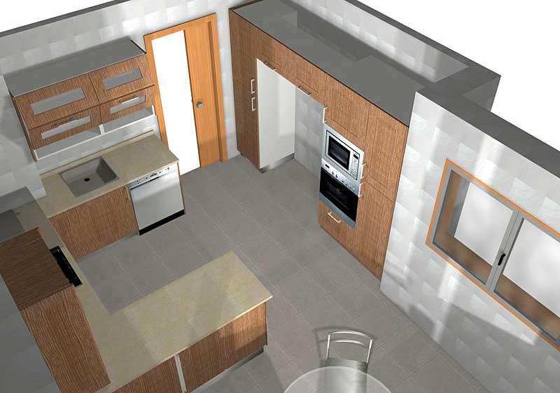 Cocinas Helix, muebles de cocina en Castellón - Detalle del proyecto :.